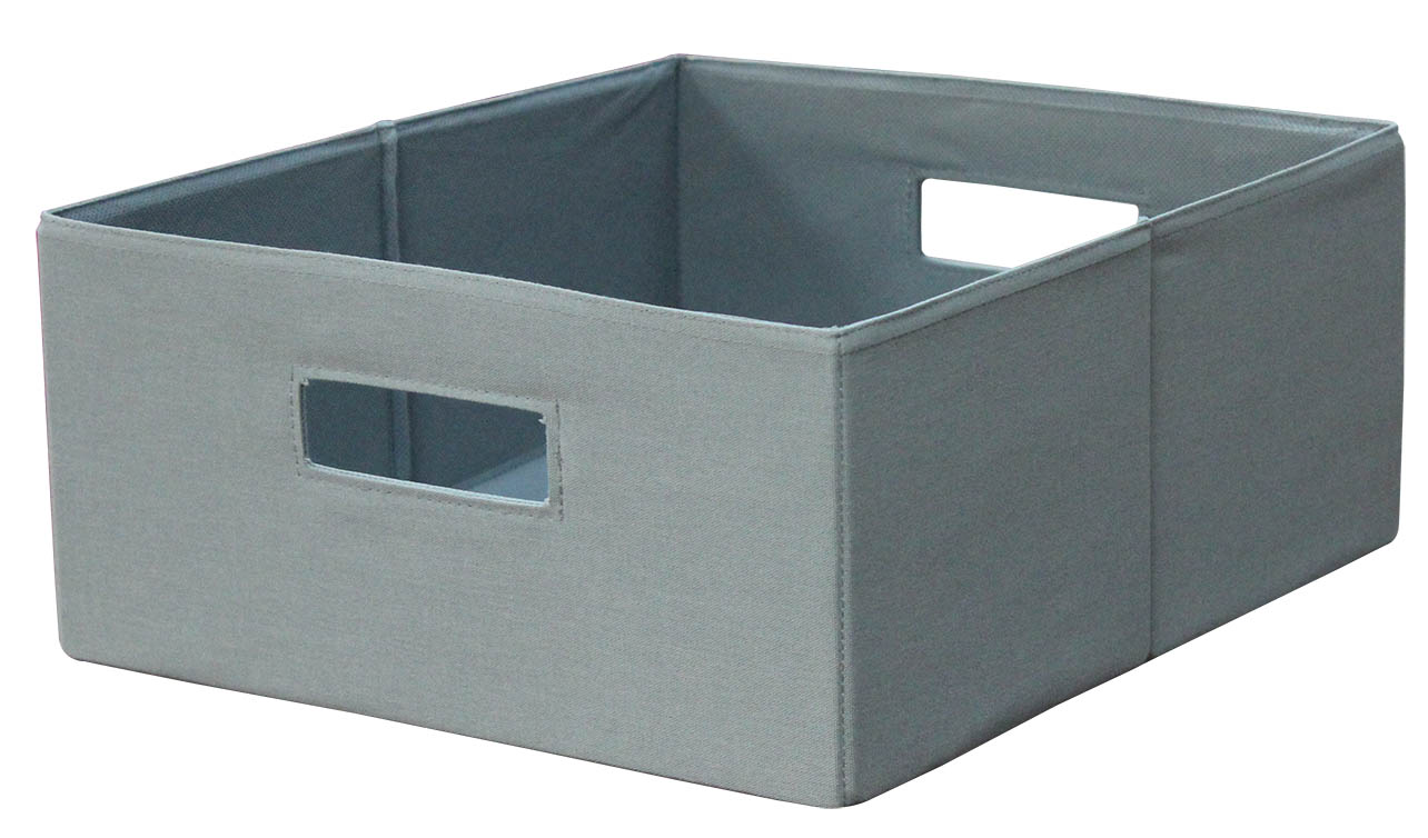 better homes and gardens half height fabric cube storage bin