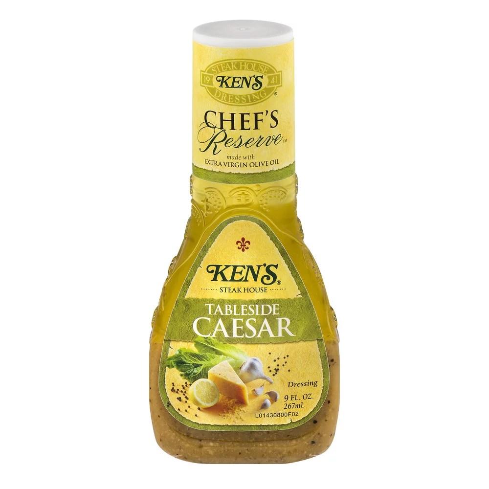 Ken39s Steak House Chef39s Reserve Dressing Tableside Caesar
