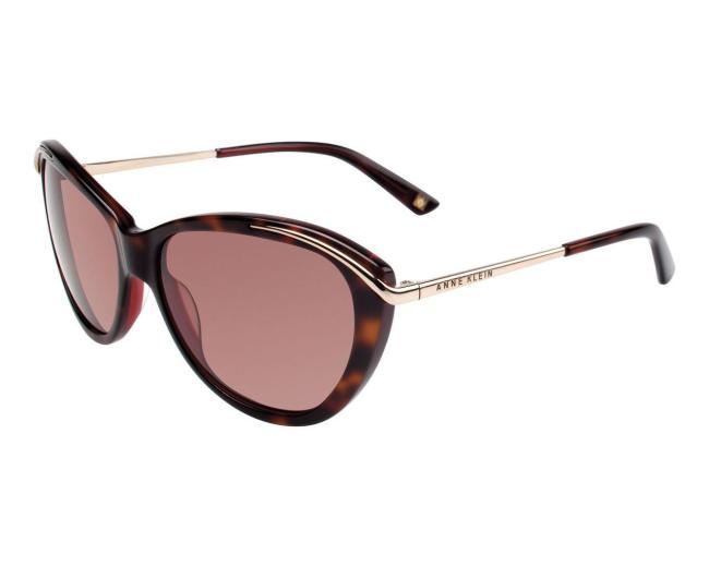 Anne Klein AK7006 Women's Cat-Eye Fashion Sunglasses - Tortoise Burgundy
