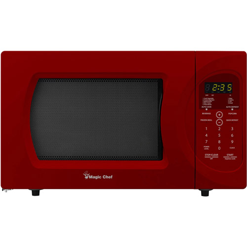 magic chef 0 9 cubic foot microwave