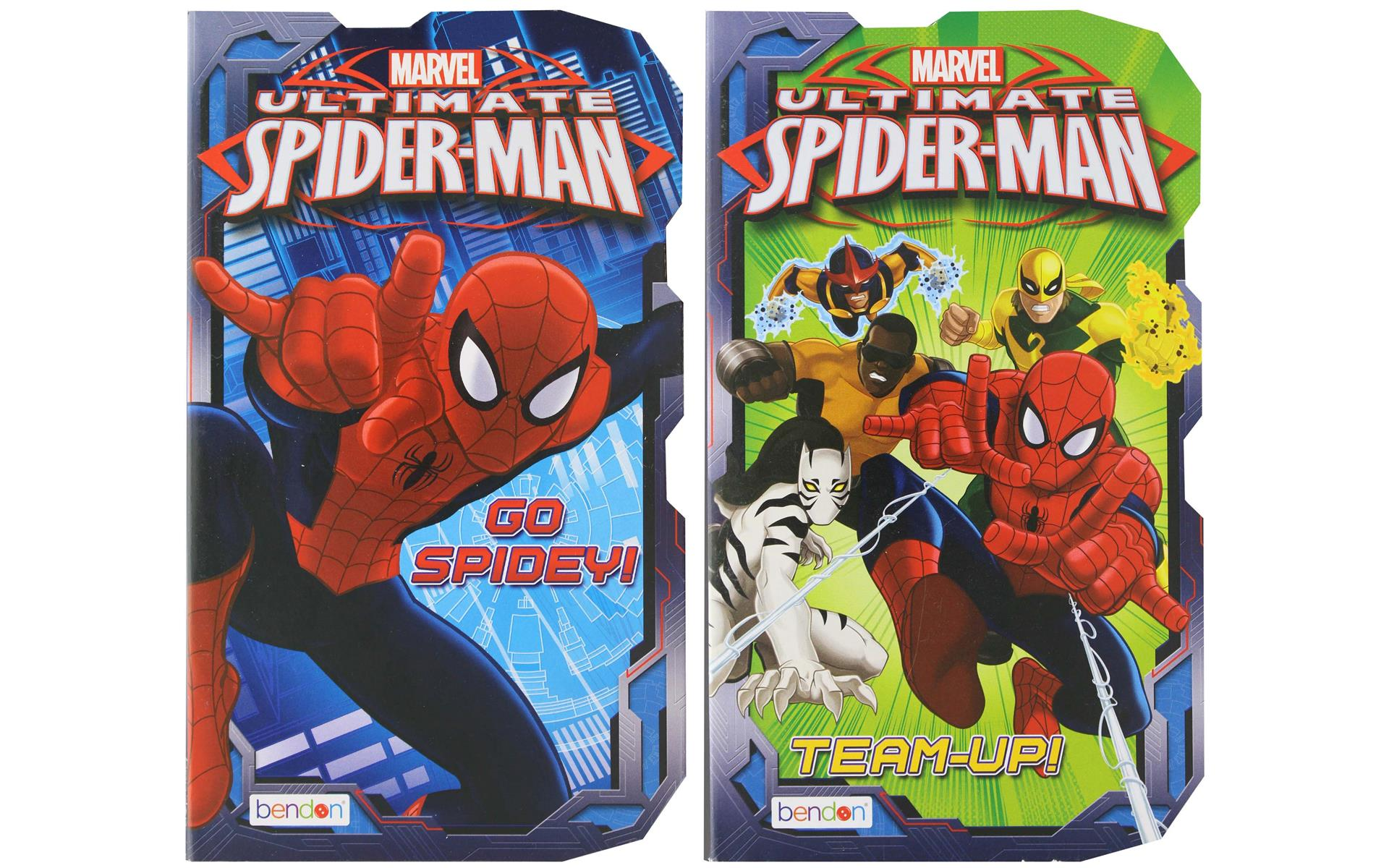 Bendon Board Bk Marvel Ultimate Spider Man Astd