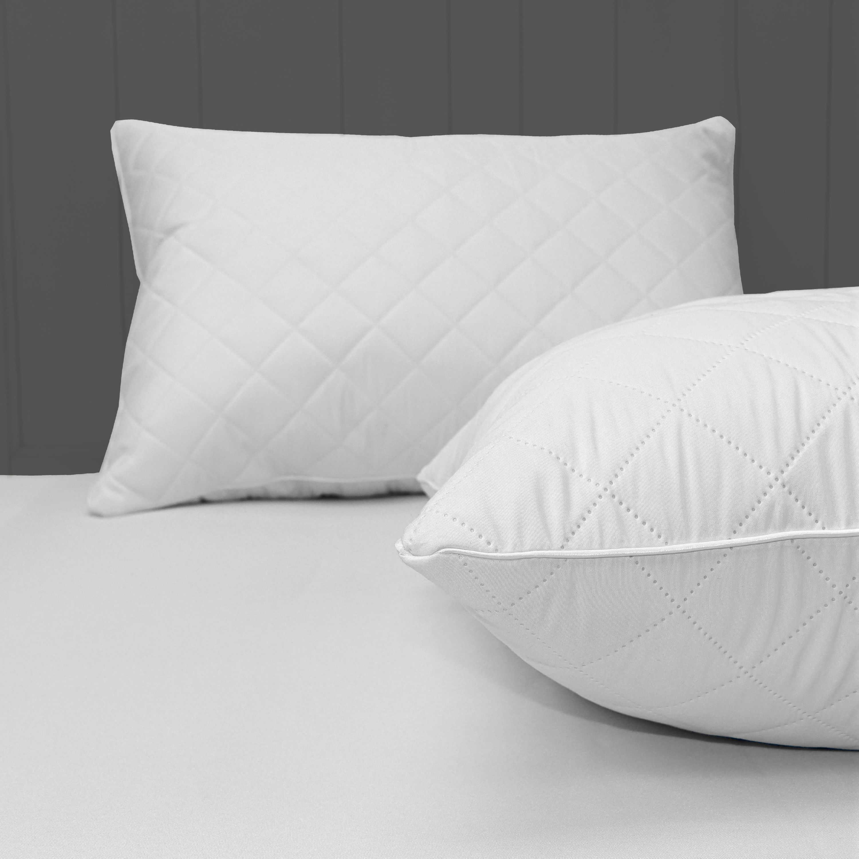 mainstays memory foam cluster pillow