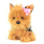 Dan Dee Plush 7 Brown Black Yorkie Stuffed Animal Terrier Puppy Dog Pal Walmart Com Walmart Com