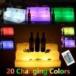 20 Led Lighted Liquor Bottle Shelf Color Changing Back Bar