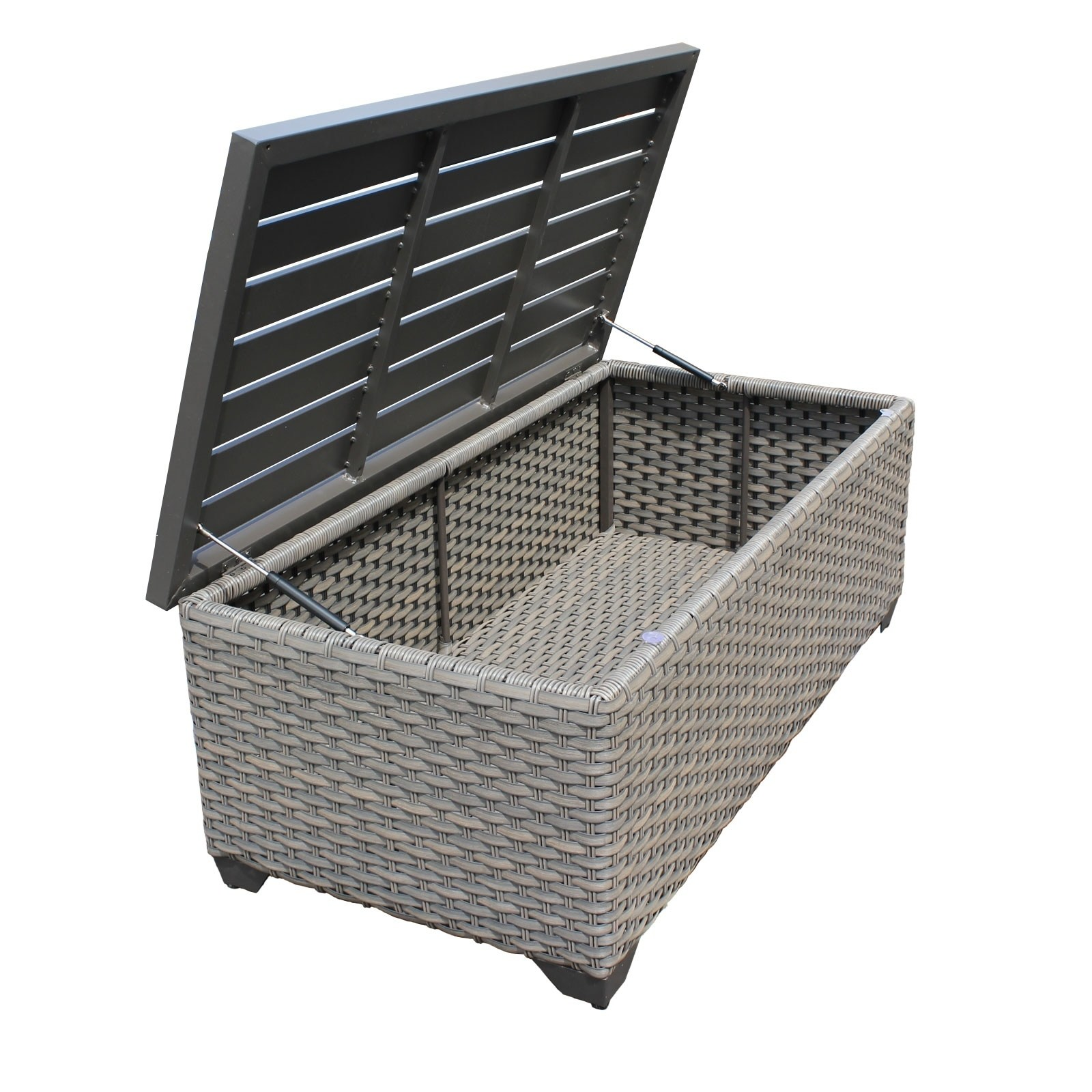 tk classics florence outdoor storage coffee table