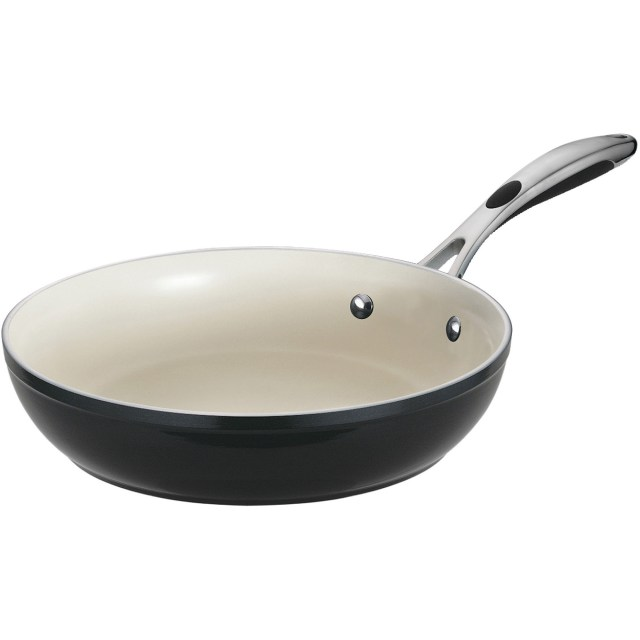 Tramontina Gourmet Ceramica 01 Deluxe 12 in Fry Pan, Black