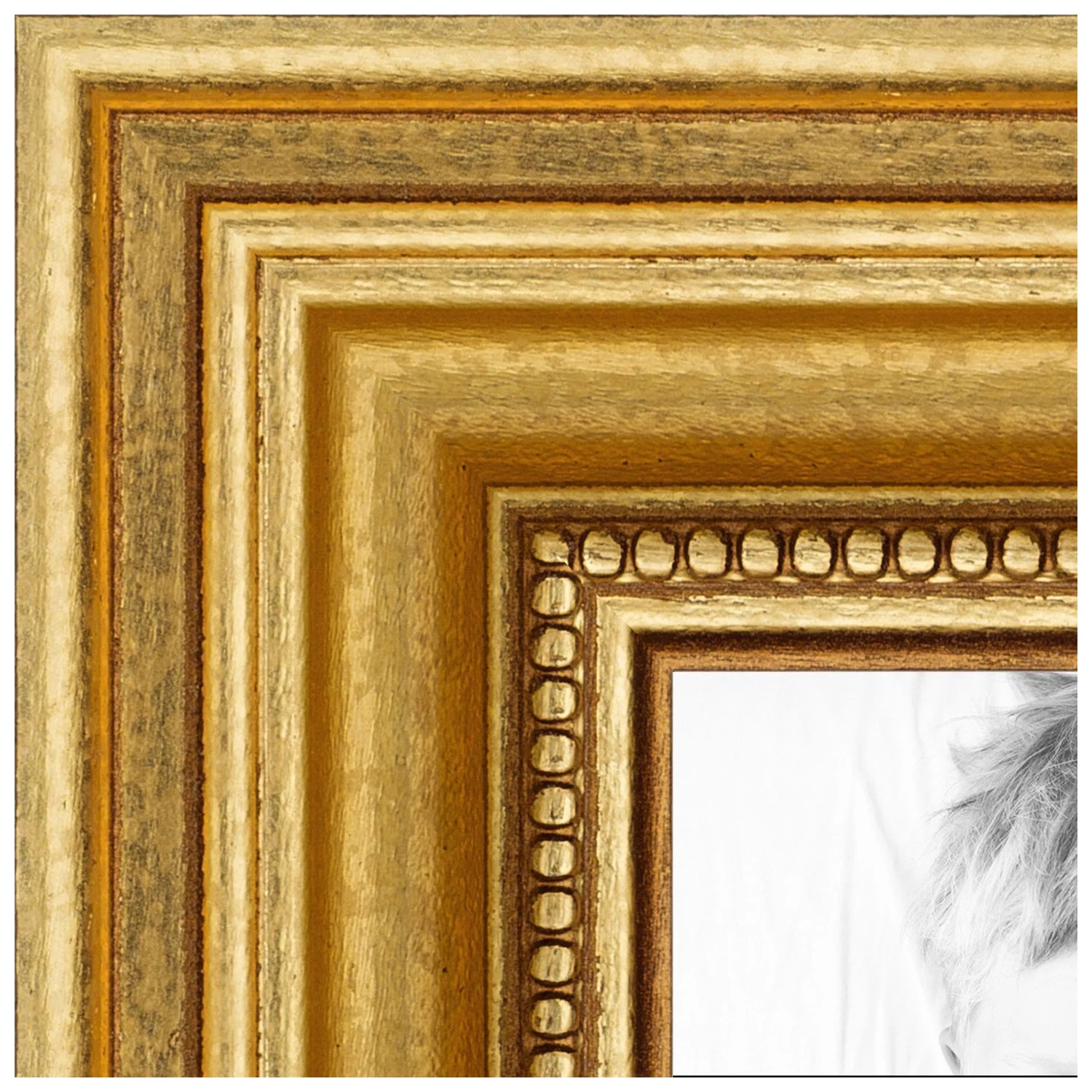 arttoframes 12x18 inch gold picture frame this gold wood poster frame is great for your art or photos comes with 060 plexi glass 4159