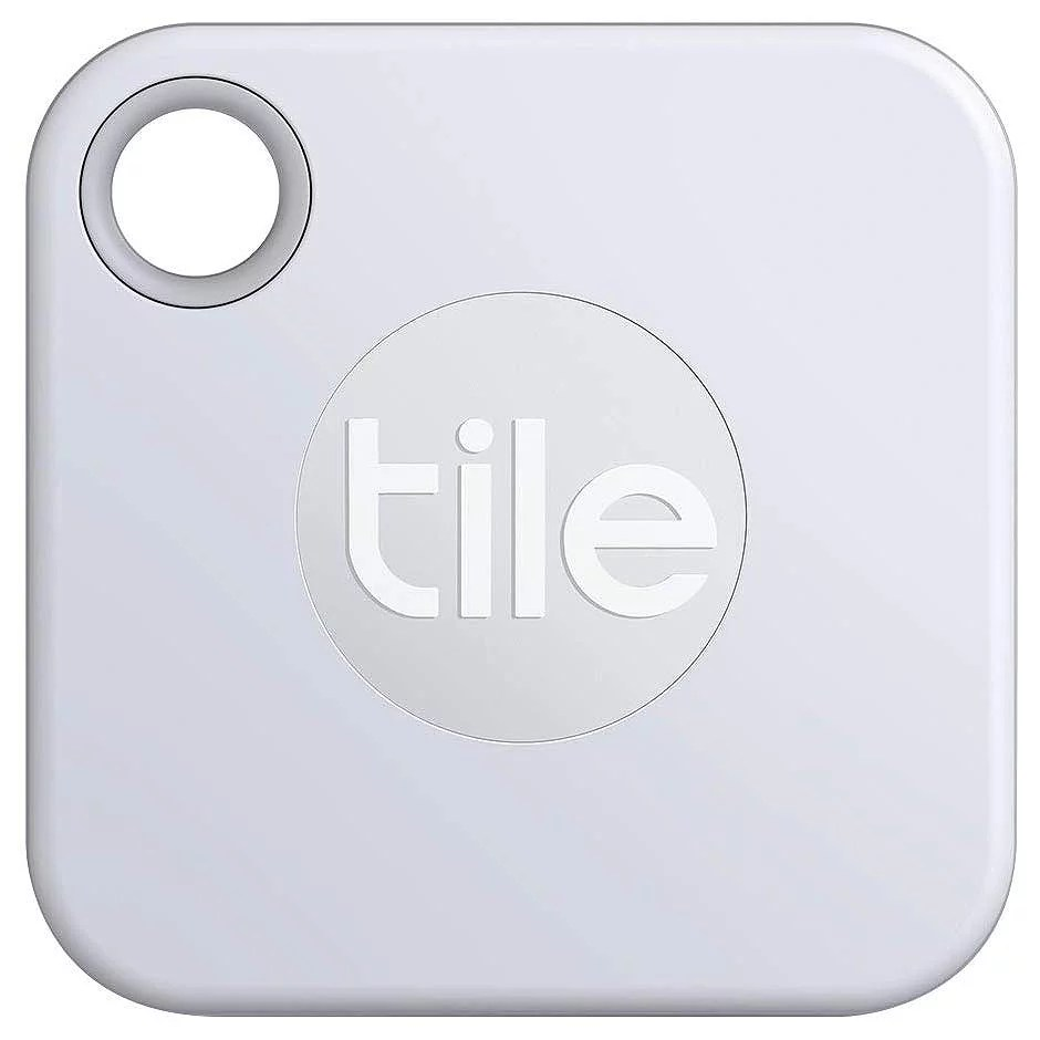 tile mate 2020 bluetooth item tracker 1 pack white key phone anything finder 200 ft wireless locator non retail packaging