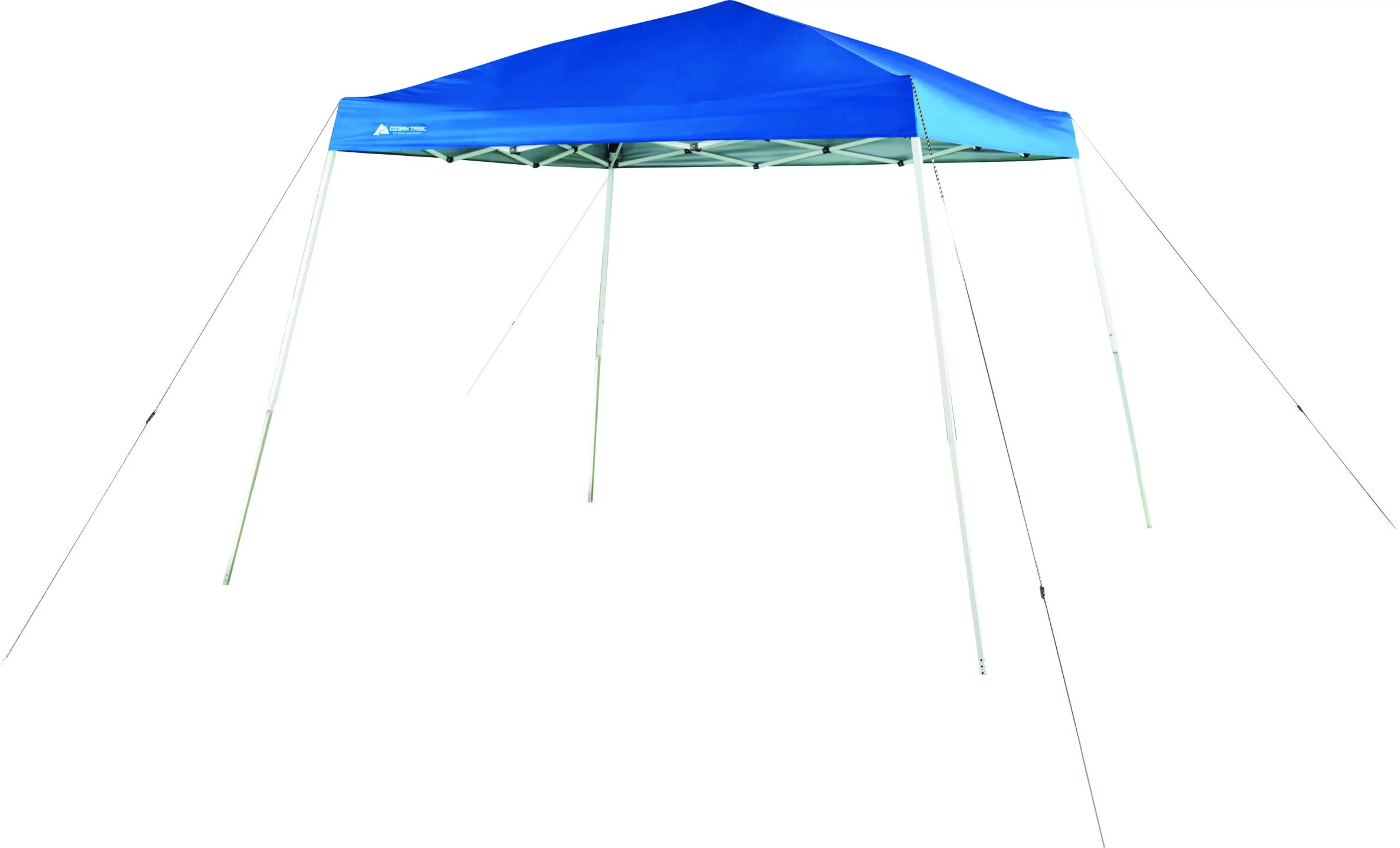 ozark trail 10 x10 instant slant leg canopy blue