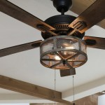 River Of Goods 52 Shabby Bronzed Farmhouse Led Ceiling Fan With Light Walmart Com Walmart Com