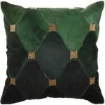 Nourison Sofia Green Gold Decorative Throw Pillow 18 X 18 Walmart Com Walmart Com