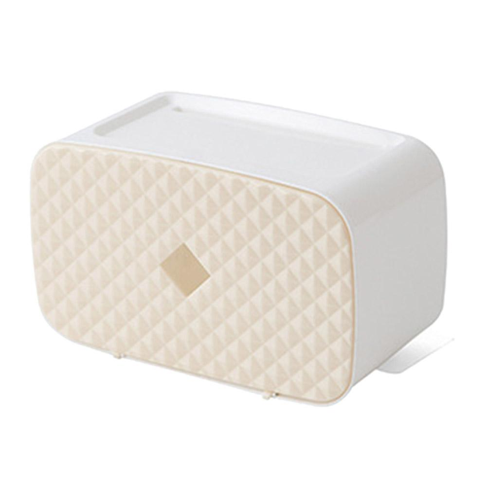 LYUMO Tissue Holder,Wall-mounted Tissue Box Holder Storage ... on Wall Mounted Tissue Box Holder id=21605