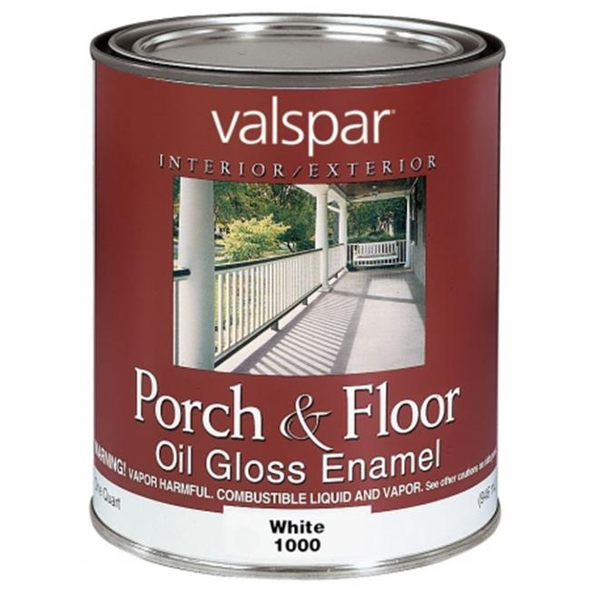 valspar brand 1 quart white porch floor oil enamel paint on valspar paint id=48445
