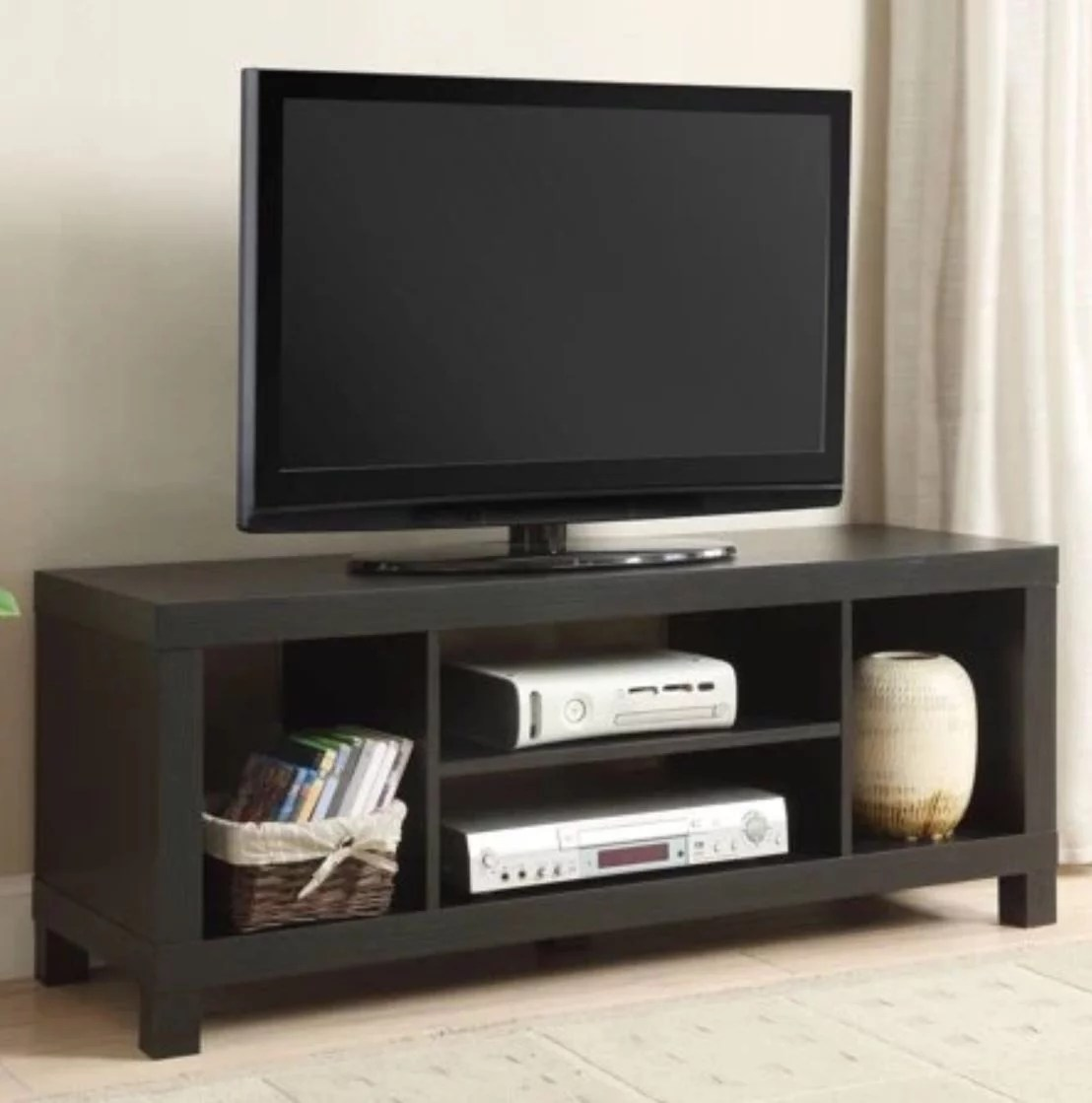 mainstays tv stand for tvs up to 42 multiple colors