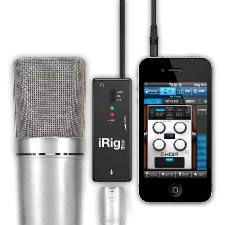 iRig PRE Universal Microphone Interface for Apple iPhone/iPad/iPod