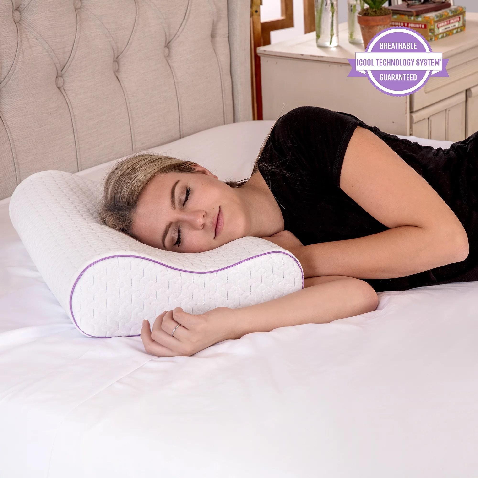 memory foam contour pillows walmart com