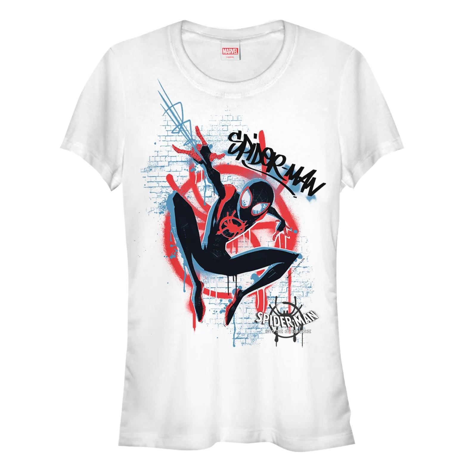 Man Spider Shirts Walmart
