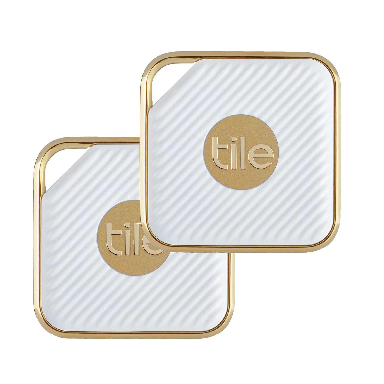 tile style pro key finder phone finder anything finder 2 pack gold walmart com