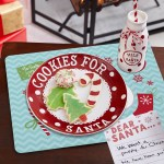Personalized Cookies For Santa Christmas Plate Set Walmart Com Walmart Com