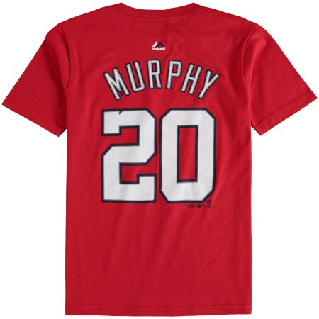 Daniel Murphy Washington Nationals Majestic Youth Participant Identify and Quantity T-Shirt – Crimson bc0d693e 0ab8 45b3 8b4a edc8489b17a7 1
