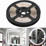 Tsv Led Vanity Mirror Lights Kit For Makeup Dressing Table Vanity Set 13ft Flexible Led Light Strip 6000k Daylight White With Dimmer And Power Supply Diy Hollywood Style Mirror Mirror Not Included