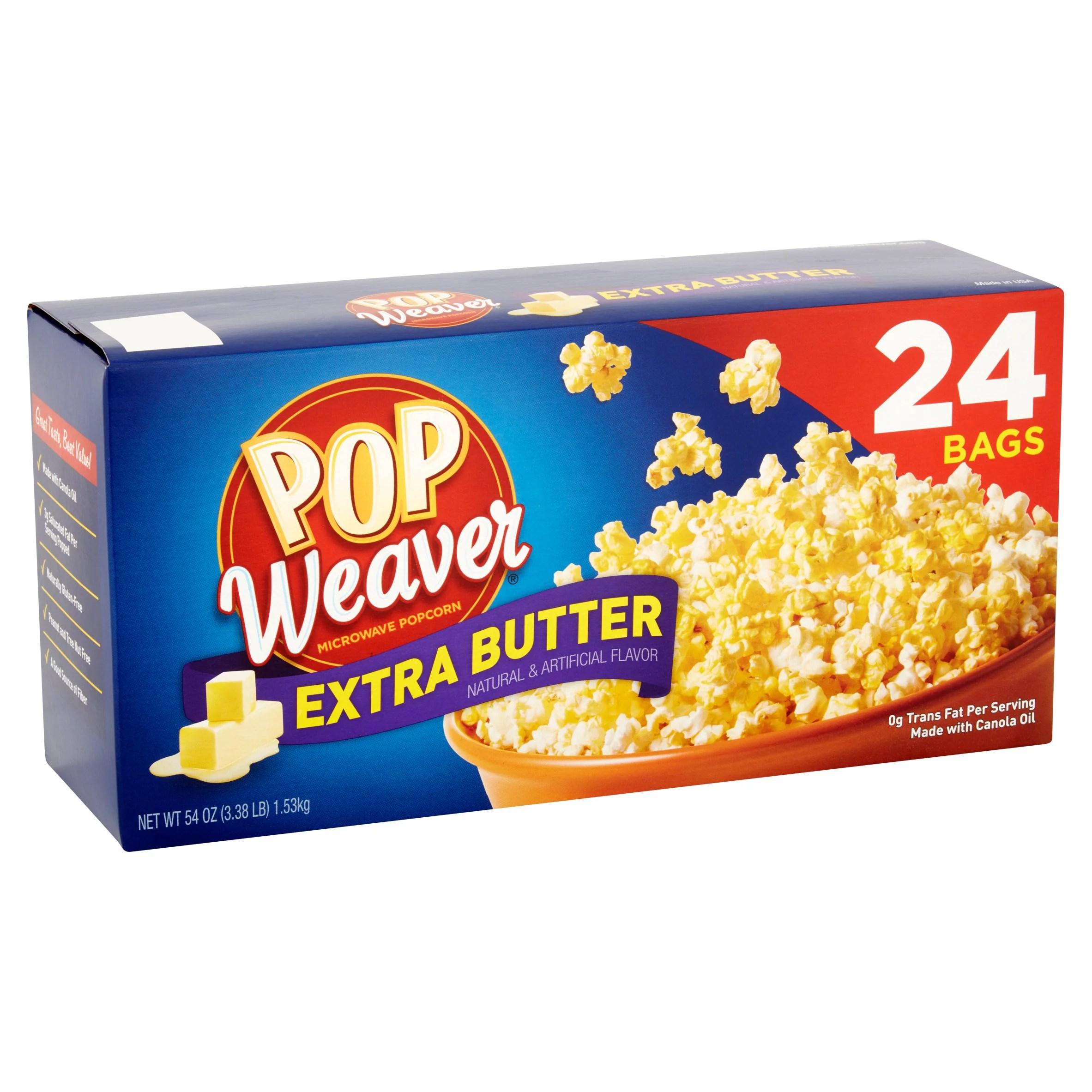 walmart gourmet microwave popcorn brand