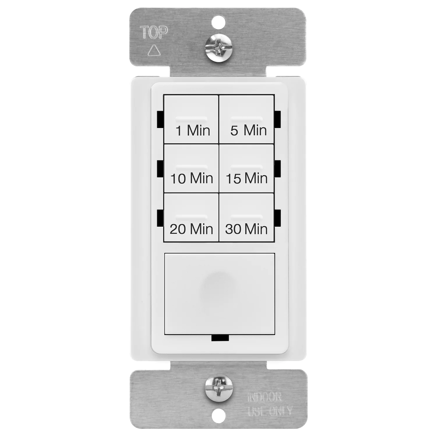 enerlites countdown timer switch for bathroom fans and household lights 1 5 10 15 20 30 min settings with manual override always on blue led