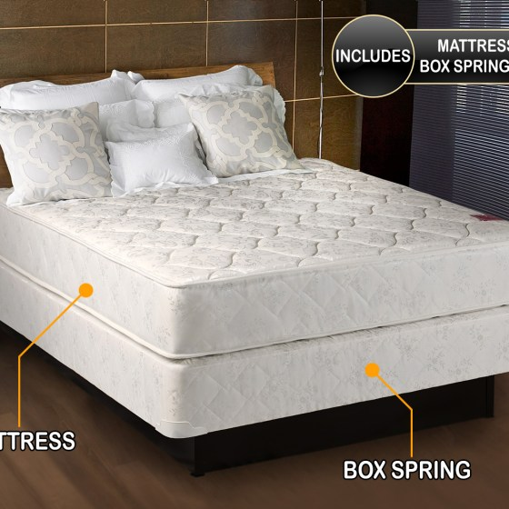 Legacy Twin Size 39 X75 X8 Mattress And Box Spring Set