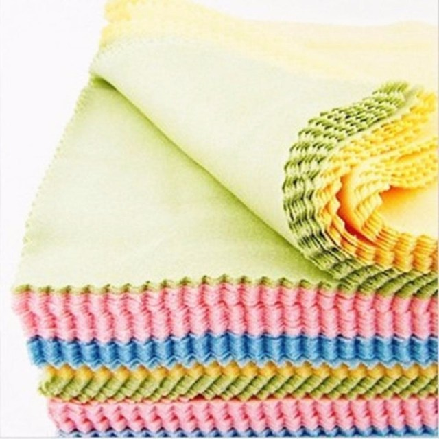 Putzgeräte Putztücher Haushalt Microfiber Cleaner Cleaning Cloth