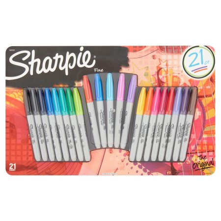 Sharpie Permanent Markers Limited Edition 21ct Value Pack