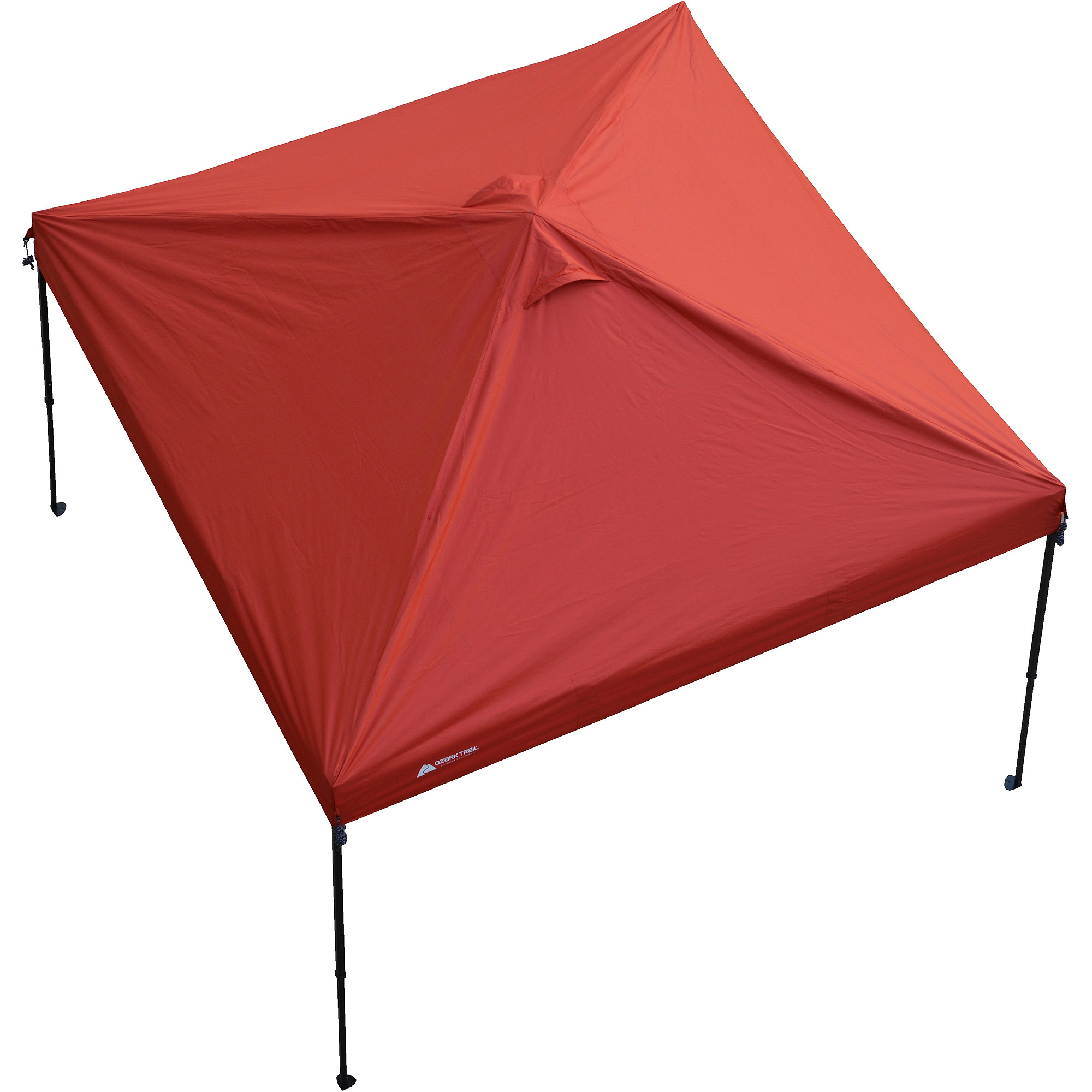 ozark trail 10 x 10 top replacement cover for outdoor canopy red