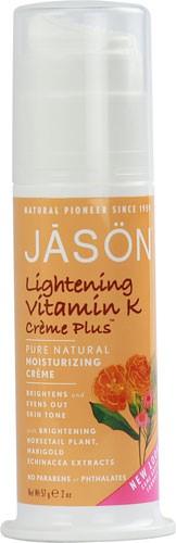 JAS?N Lightening Vitamin K Creme Plus, 2 Oz