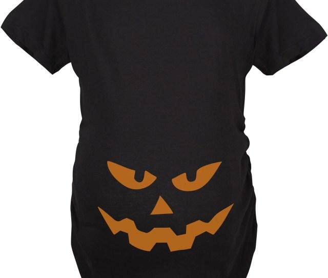 Maternity Triangle Nose Pumpkin Face Halloween Pregnancy Announcement T Shirt Walmart Com