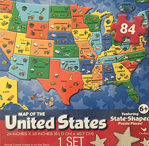 30/12/2020· it's so important to learn about the united states geography and what better way to learn than to use this usa state jigsaw puzzle?! Map Of The United States Puzzle 84 Piece Puzzle Map Of The Usa Walmart Com