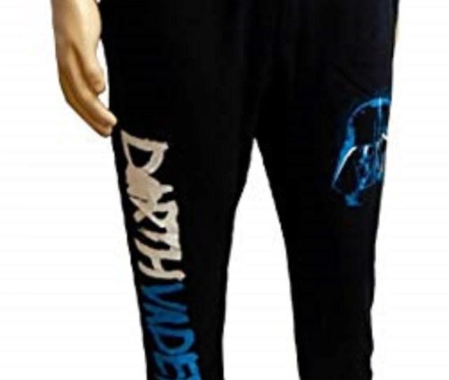 Panteez Star Wars Darth Vader Mens Black Jogger Lounge Pajama Sweatpants Unisex X Large Walmart Com