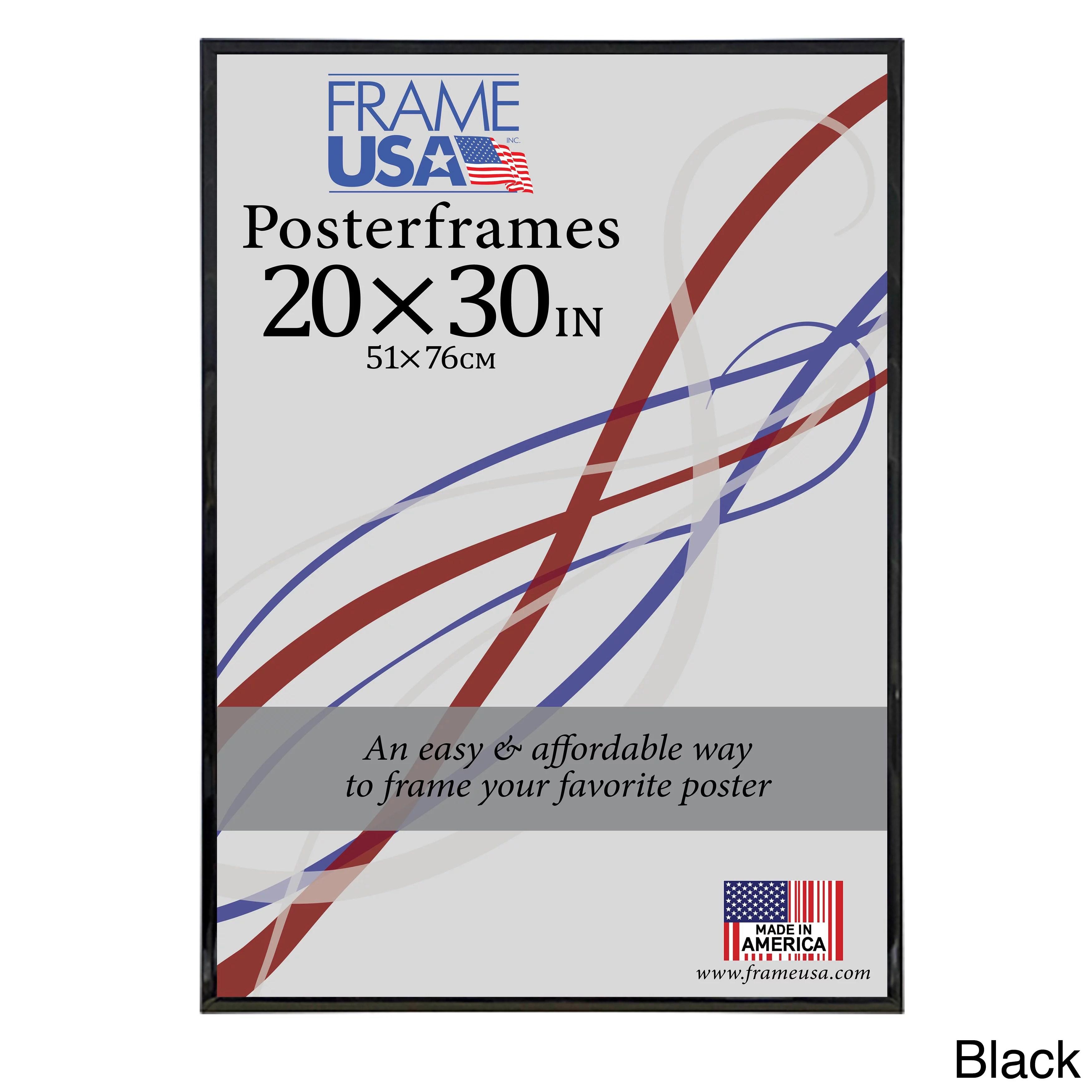 frame usa hardboard poster frame 20 x 30 inch image size