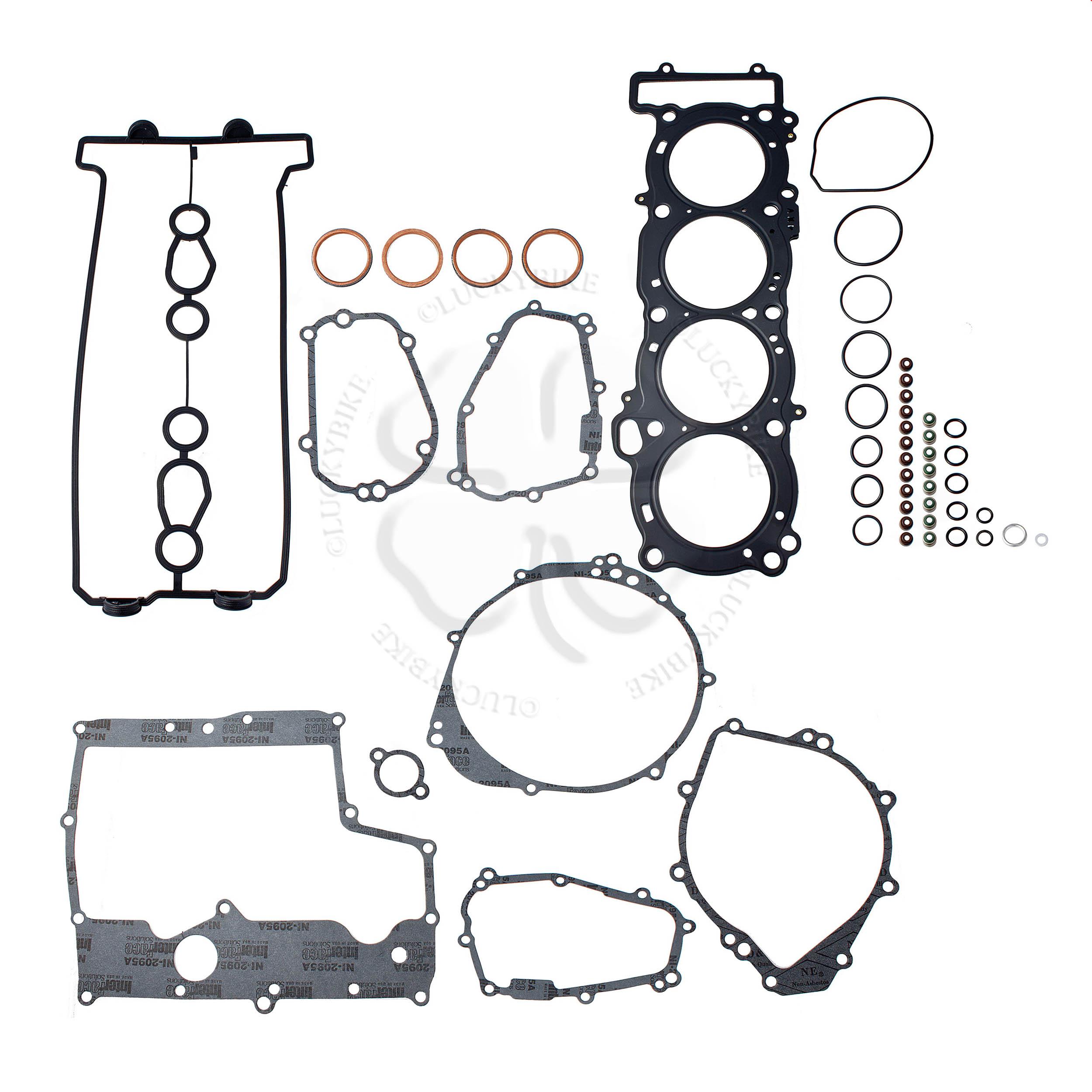 Complete Engine Gasket Kit Yamaha Yzf R1 98 01 Head Set