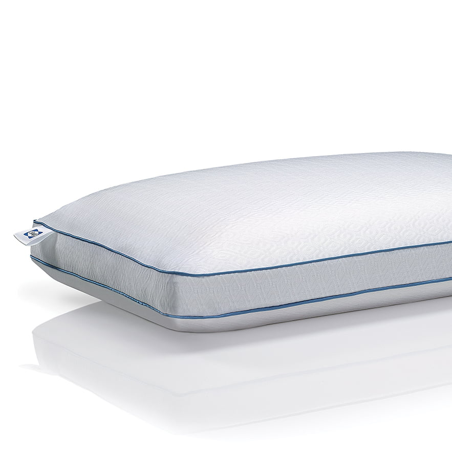 sealy chill cooling memory foam bed pillow with support gel standard size walmart com