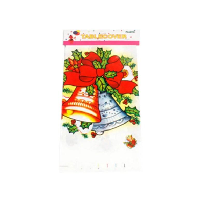 110*180cm christmas disposable tablecloth festive cartoon rectangle