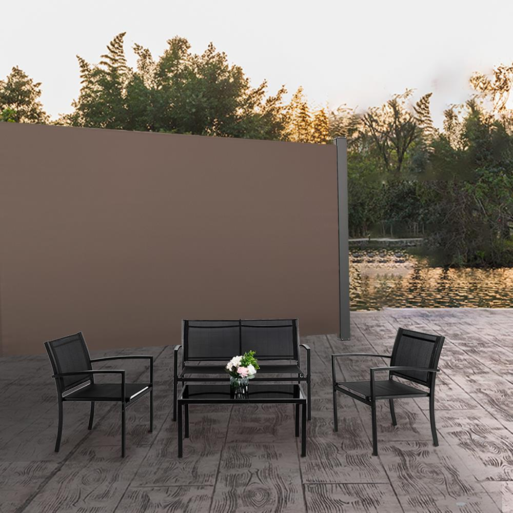 https www walmart com ip winado 71 x 118 retractable side awning wind screen privacy divider coffee 467976655