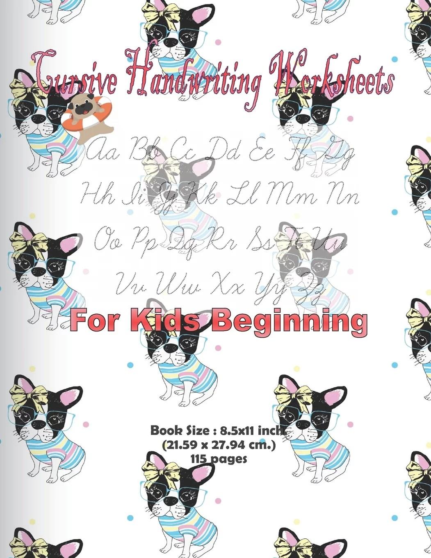 Cursive Handwriting Worksheets For Kids Beginning Cursive