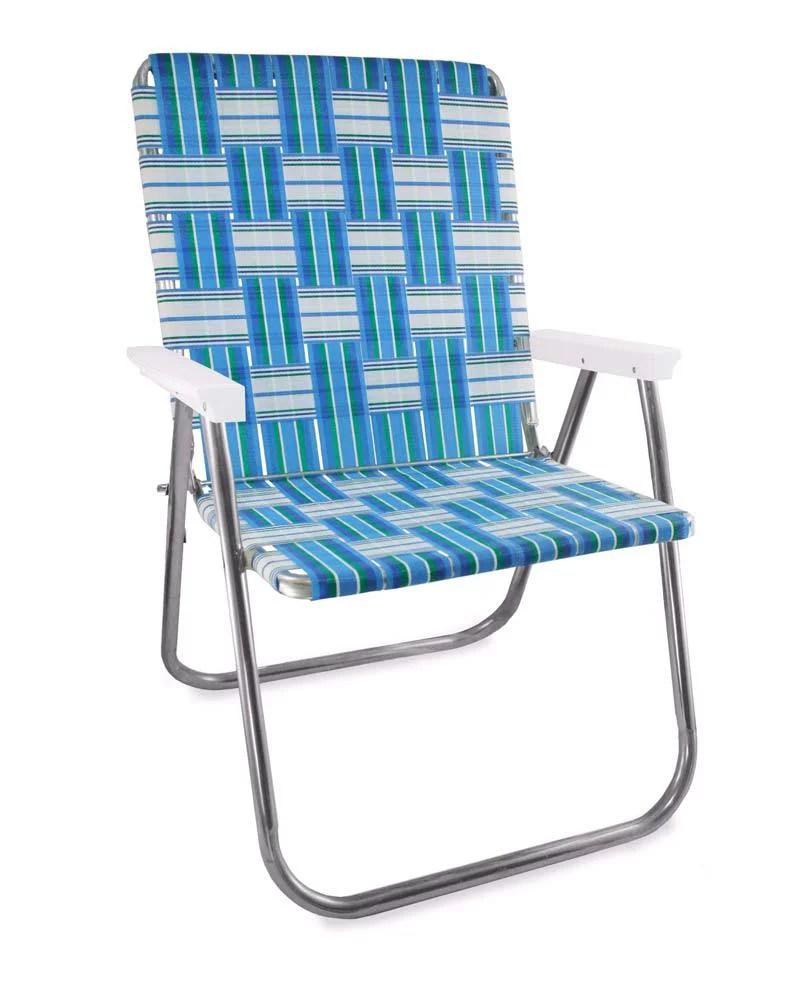lawn chair usa folding aluminum webbing chair walmart com