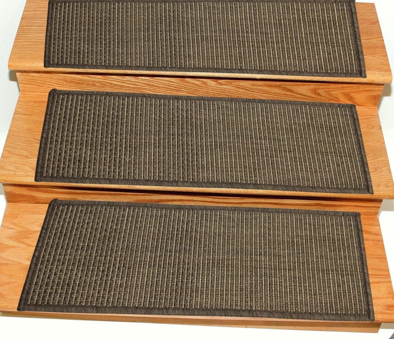 Ottomanson Jardin Collection Jute Back Indoor Outdoor Carpet Stair | Outdoor Carpet Stair Treads | Indoor Outdoor | Flooring | Ottomanson Jardin | Non Skid | Anti Slip