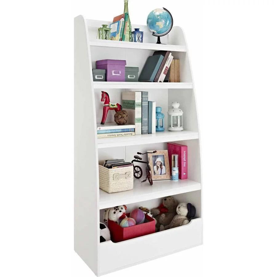 mia kids 4 shelf bookcase