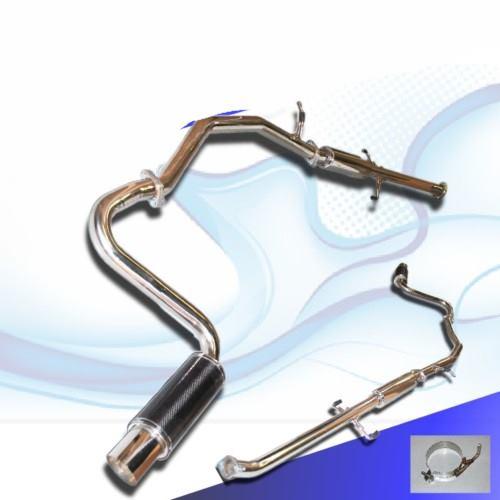 2005 2006 2007 2008 2009 catback exhaust toyota scion tc 2 3 16 od carbon fiber muffler