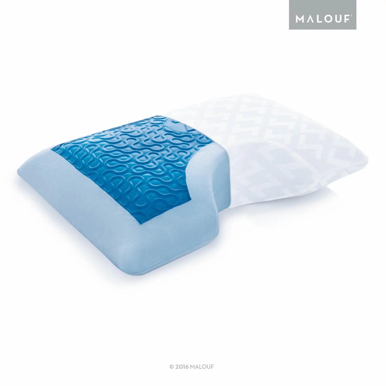 z gel memory foam with liquid z gel side sleeper pillow