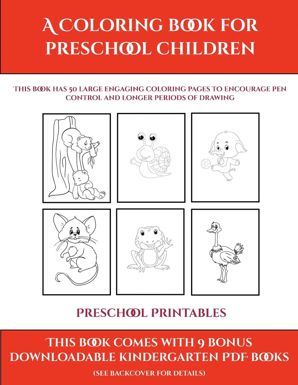 Preschool Printables Preschool Printables A Coloring