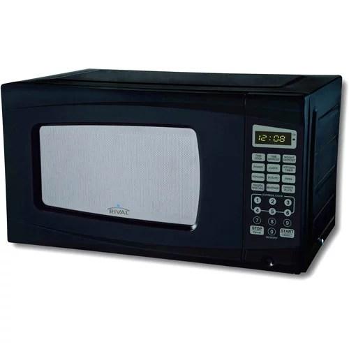 rival 0 7 cu ft digital microwave oven walmart com