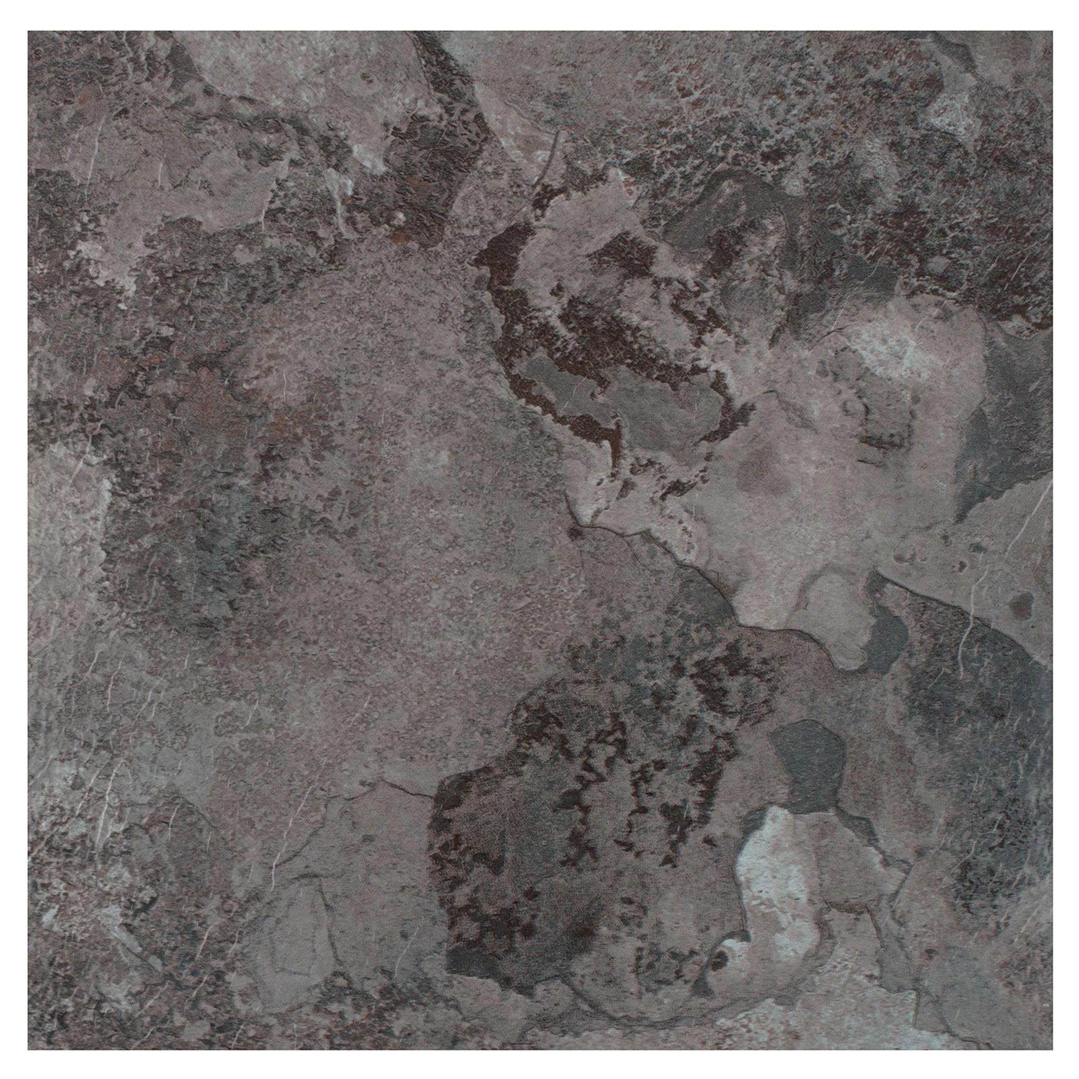 achim portfolio self adhesive vinyl floor tile 12 tiles 12 sq ft 12 x 12 midnight marble