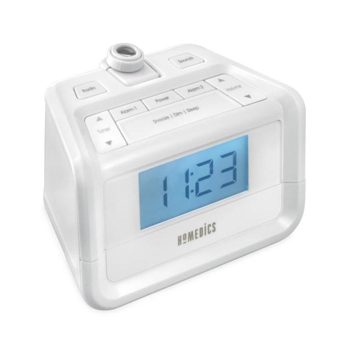 Homedics Soundspa Digital Fm Clock